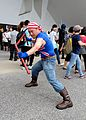 Cosplayer of Bill Kane, The King of Fighters at PF24 20160508a.jpg