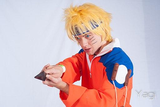 Cosplayer of Naruto Uzumaki from Naruto 20150628c