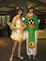 Cosplayers of Sakura Kinomoto and Syaoran Li at Animethon 20070811a.jpg