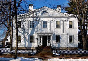 Cotting–Smith Assembly House - Cotting-Smith Assembly house at 138 Federal Street