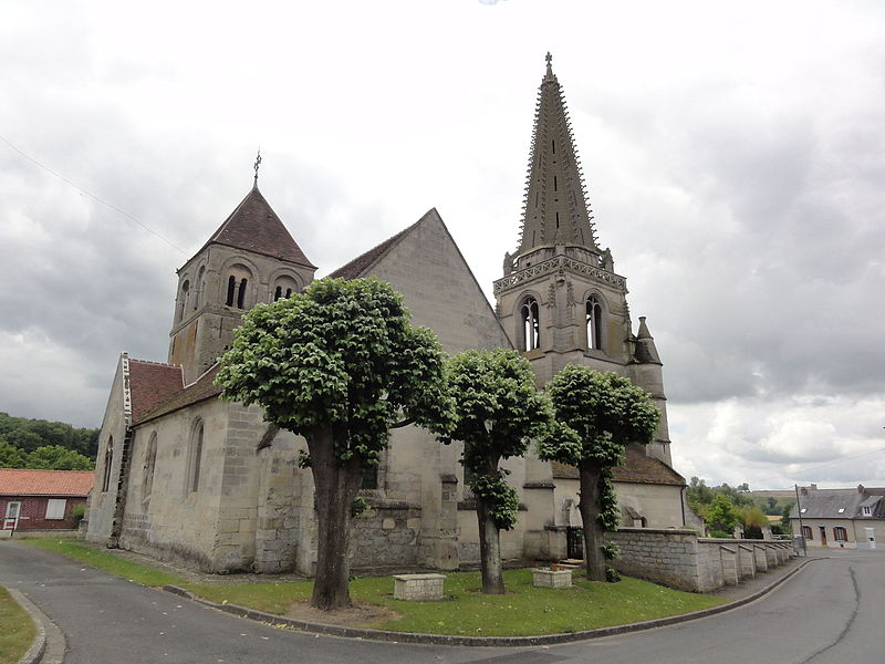 Coucy-la-Ville (Aisne) église