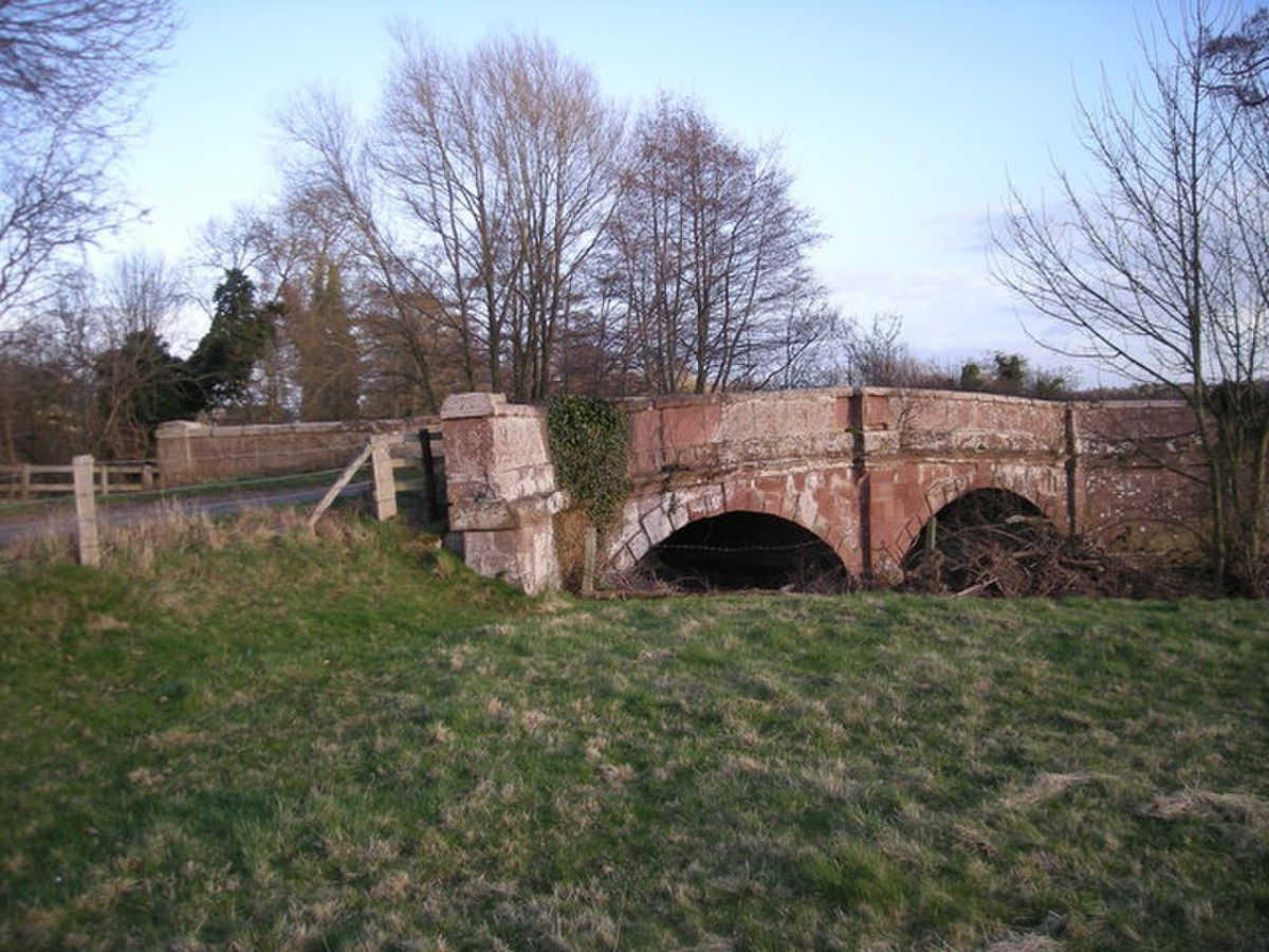 Cound Stank Bridge. - geograph.org.uk - 711837.jpg