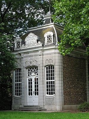 Johann Joseph Couven - Pavilion, constructed by Johann Joseph Couven, in the spa garden of Aachen-Burtscheid