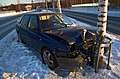 Crashed car in Siilinjärvi.jpg