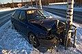 Crashed car in Siilinjärvi.jpg