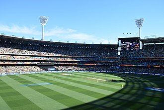 Cricket in Australia - The MCG hosting the 2015 Cricket World Cup Final between Australia and New Zealand