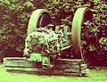 Crossley gas engine, Regional Resource Centre, Beamish Museum, 11 September 2011 (3).jpg