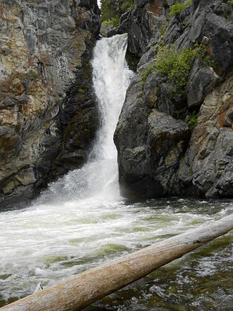Helena National Forest - Crow Creek Falls is in the Elkhorn Mountains section of the Helena National Forest