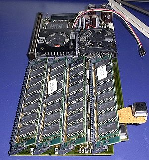 PowerUP (accelerator) - CyberStorm PPC604e accelerator board