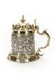Cylindrisk kanna med kupig fot. Gåva från kung Karl XIV Johan till Magnus Brahe - Skoklosters slott - 91916.tif
