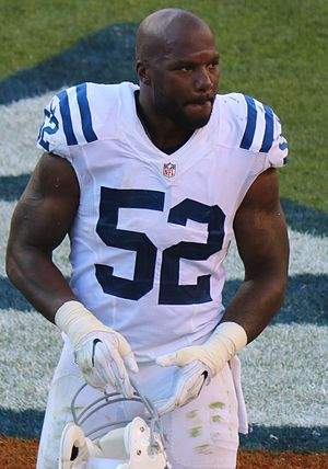 D'Qwell Jackson - Jackson with the Colts in 2016