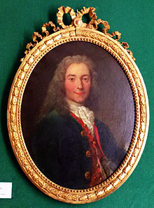 Voltaire (1718),Porträt von Nicolas de Largillière (Quelle: Wikimedia)