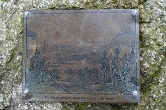 Döttingen, Aargau - Memorial to the 1799 battle between France and Austria