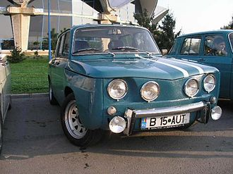 Automobile Dacia - Dacia 1100S (licensed R8 Gordini version)