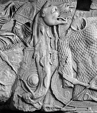 Dacian Draco - Dacian Draco as from Trajan's Column