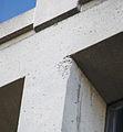 Damaged concrete on east facade 02 - J Edgar Hoover Building - Washington DC - 2012.jpg