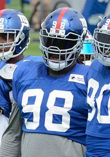 Damon Harrison American football nose tackle