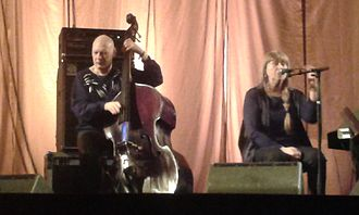 Dan Berglund - Dan Berglund and Sidsel Endresen at Vossajazz 2016.