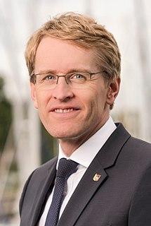 Daniel Günther German politician (CDU), Minister President of Schleswig-Holstein