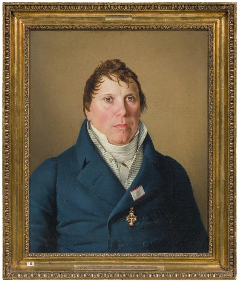 Danish Governor Lund (Christoffer Wilhelm Eckersberg) - Nationalmuseum - 22241.tif