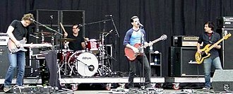 Dusk and Summer - Dashboard Confessional performing at the Reading Festival, August 26, 2006