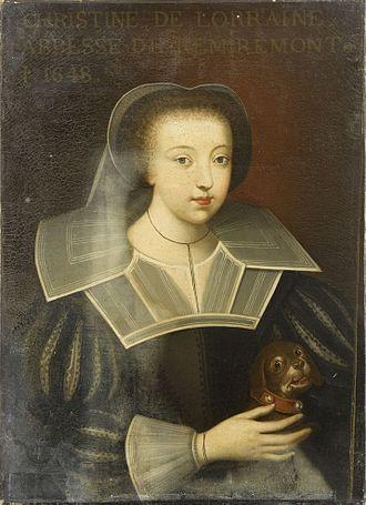 Catherine of Lorraine (1573–1648) - Image: Dassy Christine de Lorraine