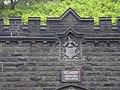 Datestone in ornate entrance - geograph.org.uk - 459432.jpg