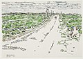 David Milne-Passchendaele, Ruins of the Church at the End of the Road.jpg