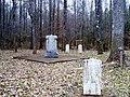 Davis Bridge Battlefield; Confederate Soldier Graves and Monument.jpg