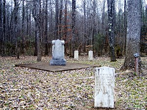 National Register of Historic Places listings in Hardeman County, Tennessee - Image: Davis Bridge Battlefield; Confederate Soldier Graves and Monument