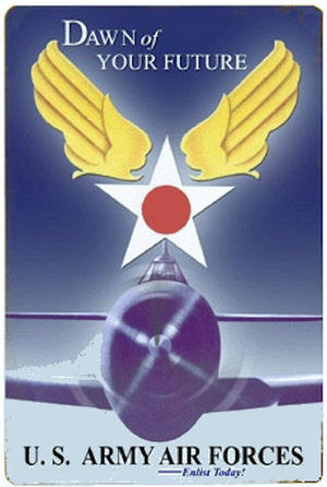 Operational - Replacement Training Units - United States Army Air Forces recruiting poster