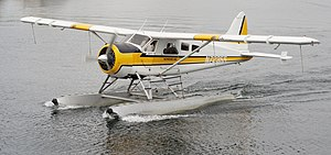 De Havilland Canada DHC-2 Beaver - DHC-2 on floats, operated by Kenmore Air