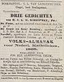 De Tijd no 6244 advertisement Boekhandel C.L. van Langenhuysen, Amsterdam.jpg