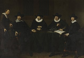The directors of the serge cloth industry, Amsterdam, 1643
