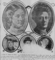 Death of Ocey Snead in the Shawnee News of Shawnee, Oklahoma on May 16, 1910.png
