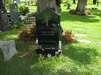 Dee Dee Ramone - Gravestone at Hollywood Forever Cemetery