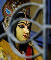 Deity inside the temple of Biswas House.jpg