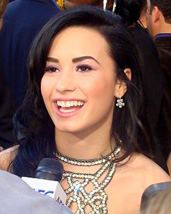 Demi Lovato 2009 på American Music Awards