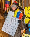 Demonstrations and protests in Venezuela in 2019 in Quebec city, Canada 14.jpg
