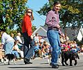 Dennis and Elizabeth Kucinich in the Woolly Bear Festival parade (2922007835) (cropped).jpg