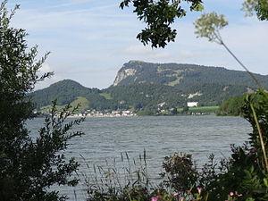Dent de Vaulion - View from Lac de Joux