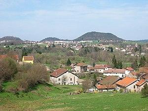 Canton of Bruyères - Countryside between Bruyères and Fiménil