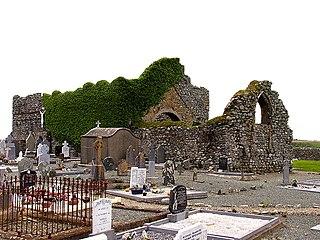 Bannow Village in Leinster, Republic of Ireland