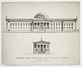 Design for Improving the Old Alm's-House, North Side of City Hall Park, Facing Chambers Street, New York MET DR184.jpg