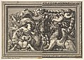 Design for a Panel with Two Variants containing a Hippocamp and a Griffin, from- Ornements de panneaux à la romaine MET DP829066.jpg