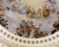 "Detail of Constantino Brumidi fresco, ""The Apotheosis of Washington,"" painted in 1865 in the U.S. Capitol Rotunda, Washington, D.C LCCN2011631597.tif"