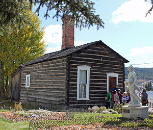 National Register of Historic Places listings in Lake County, Colorado - Image: Dexter Cabin