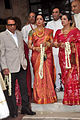 Dharmendra, Hema Malini at Esha Deol's wedding at ISCKON temple 04.jpg