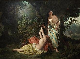 Dióscoro Puebla - The Daughters of El Cid (1871)