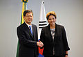 Dilma Rousseff and Kim Hwang-Sik 2011.JPG
